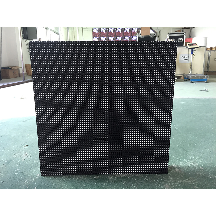 P8mm 512x512mm Die Casting Aluminum Cabinet Led Display Advertising Media Big Screen Outdoor Full Color Unit Board SMD HD Led Video Wall Screen
