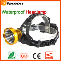 LED Headlamp 18650 Rechargeable Headlight Bicycle Cycling Head Lamp Waterproof Hunting Head Light Camping portable Headlight Hot