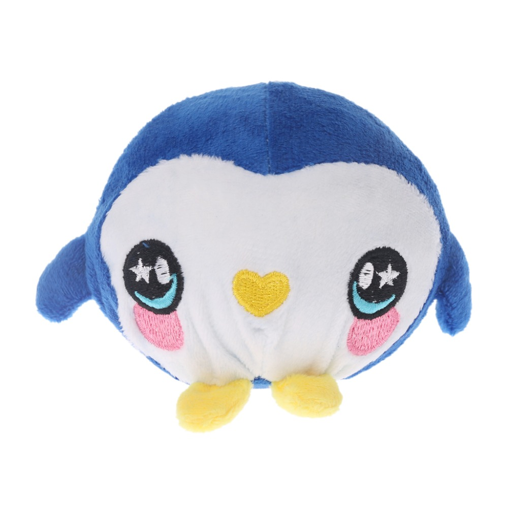 1Pc Decompression Squeeze Toys Plush Cartoon Penguin Ball Slow Rebound Stress Relief Squeeze Toy