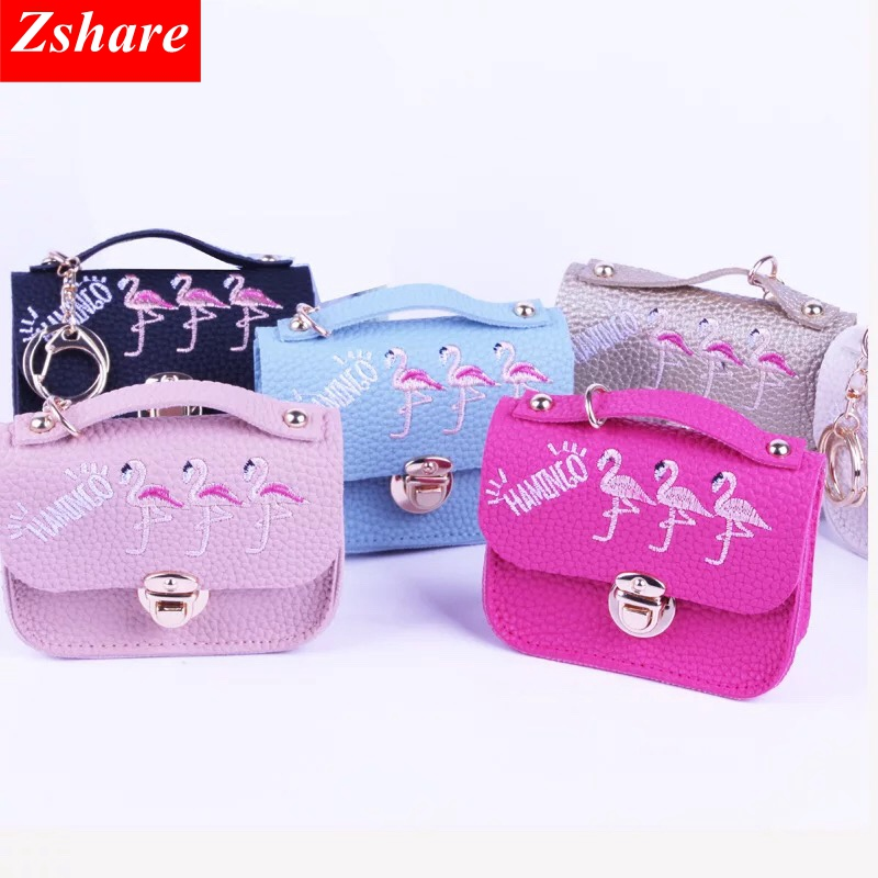1Pcs Purses Super Mini Fashion Handbags Kawaii Cartoon Children Coin Purse Key Card Bag Gift For Girl Women