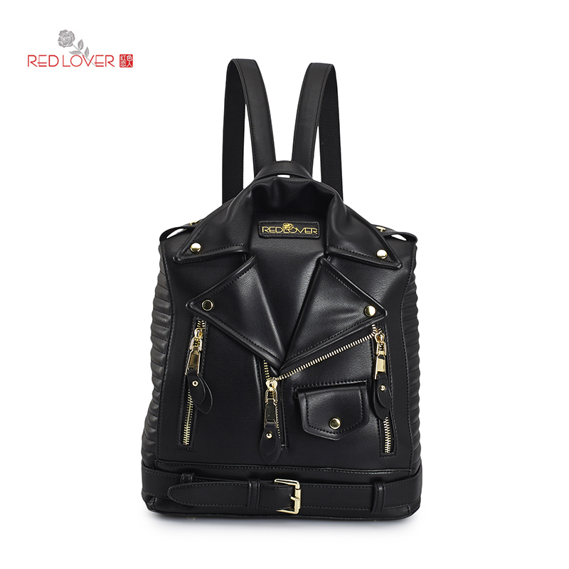 Brand Backpack Women PU Leather Bag personality Small Women Backpack Mochila Feminina School Bags for Teenagers Girls Rucksack