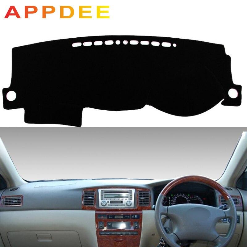 APPDEE For Toyota Corolla Altis 2003-2006 Car Styling Covers Dashmat Dash Mat Sun Shade Dashboard Cover Capter Custom 2004 2005