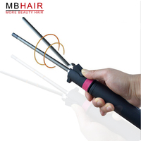 Professional Salon Ceramic Coating Curling Iron Temperature Adjustment Wand Curler Hair Curling Irons Hair Curler Styling