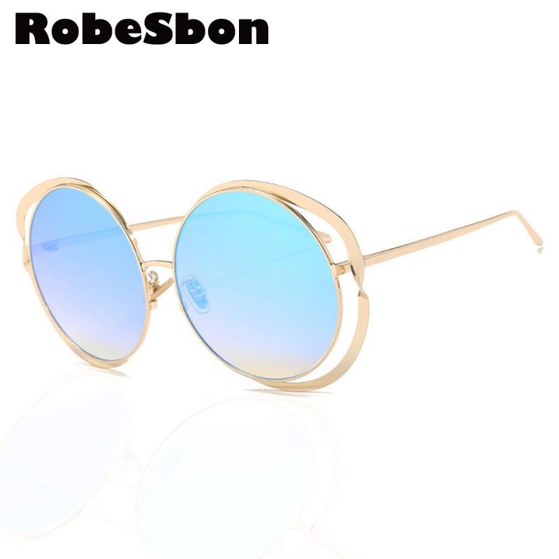 Cute Luxury Brand Women Sunglasses Women Round Frame Retro Sun Glasses for Female or Ladies Fashion Lunettes De Soleil Gafas D