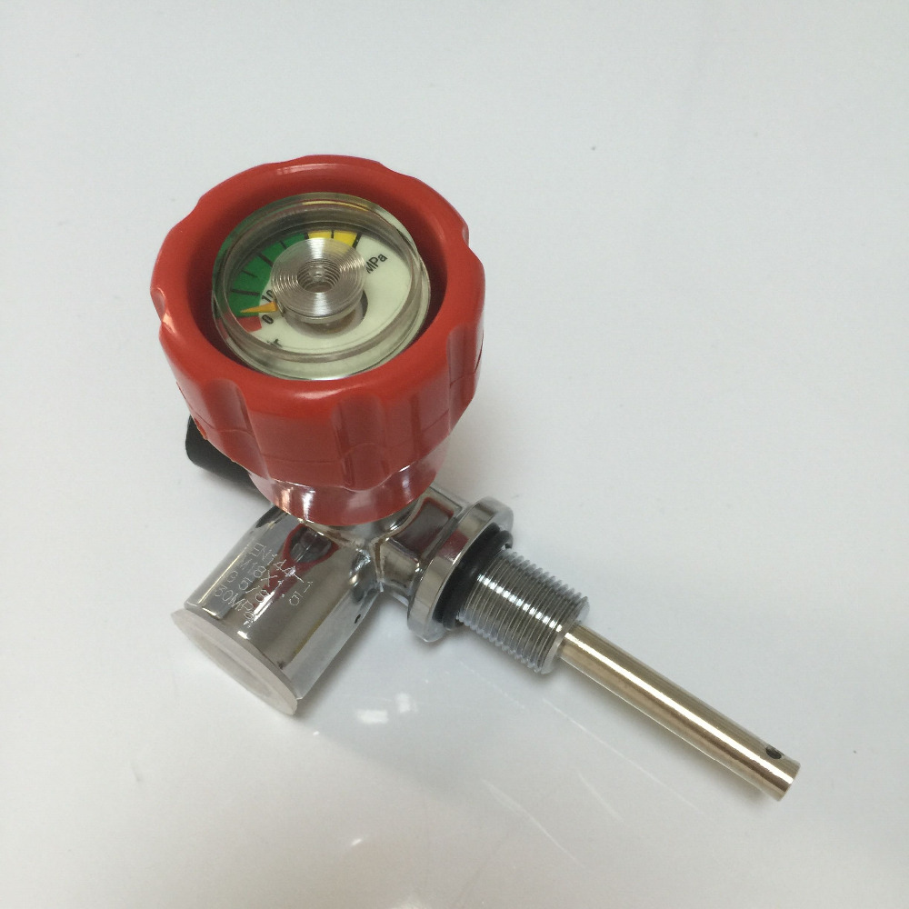 With Gauge Red Safety 4500 PSI valve for Composite Compressed Air Cylinder for Paintball Airsoft Gun Hunting composite structures design safety and innovation
