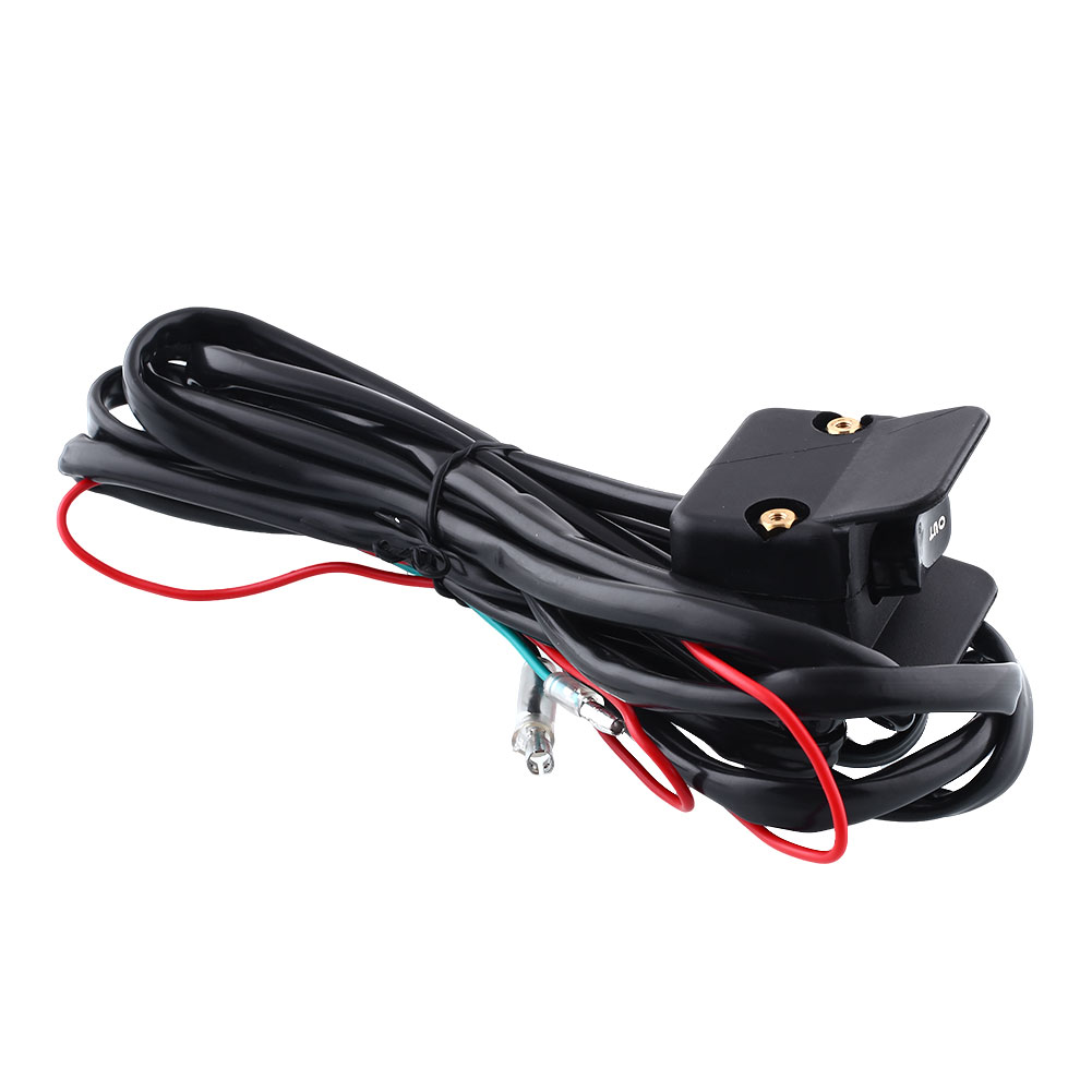 ATV Handlebars Replacement Mini Rocker Waterproof Cable Fits Winches Switch