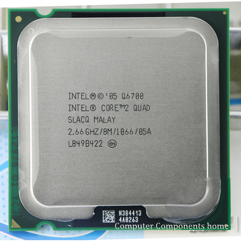 <font><b>Intel</b></font> Core 2 <font><b>Q6700</b></font> Socket LGA 775 CPU Processor (2.66Ghz/ 8M /1066GHz) Desktop CPU free shipping image