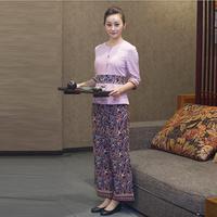Southeast Asia work clothing Thai spa Technician service suit Beautiful uniforms Beauty salon