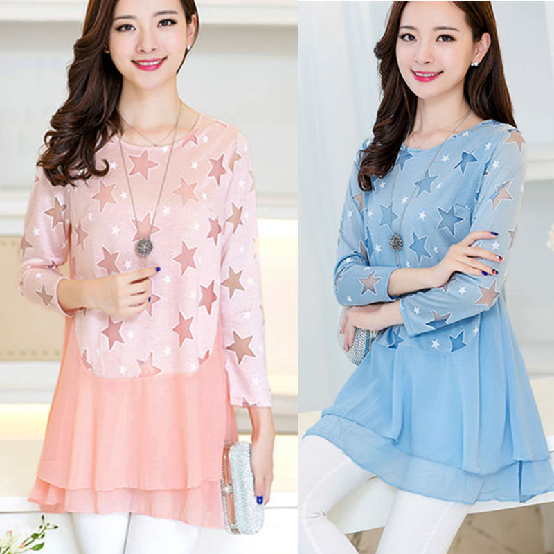 summer chiffon shirts for women 2016 vetement femme cheap