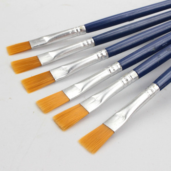 10Pcs/Set Fine Oil painting brush acrylic digital children's environmental nylon row pen Stationery - discount item  44% OFF Art Supplies