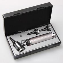 Classic Metal Medical Diagnostic Otoscope Kit Ear Care Direc