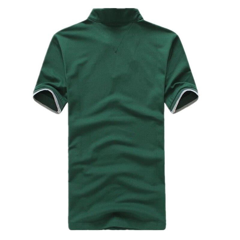 405c166a64c Vomint Verano de 2019 nuevo para hombre camisas de Polo de algodón de manga  corta de