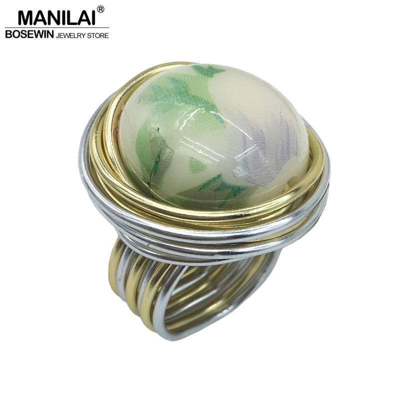 Manilai 2018 unique handmade imitation ceramic acrylic for Unique handmade jewelry wholesale