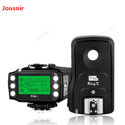 Color King Pro flash, wireless TTL flash launcher, receiver, high speed synchronous LCD screen CD50