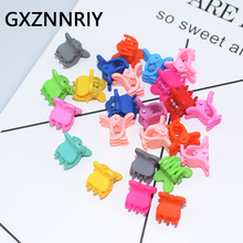 New Fashion 24pcs/lot Plastic Hair Clips for Girls Small Crab Claw Clip Baby Kids Claws Accessories Women Hairclips Gifts