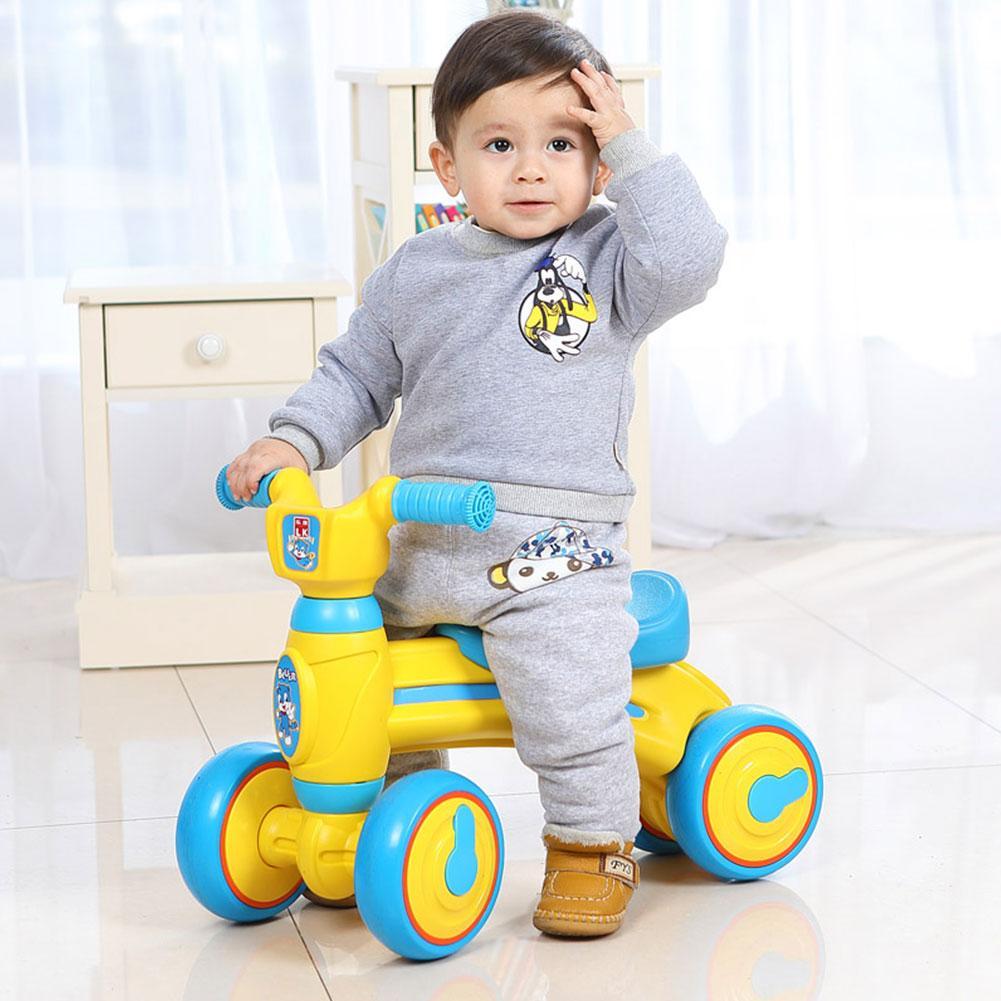 New Children's balance slide Bike yo car twisting bike Sliding Walking Learning Bike for 1 3 Y baby
