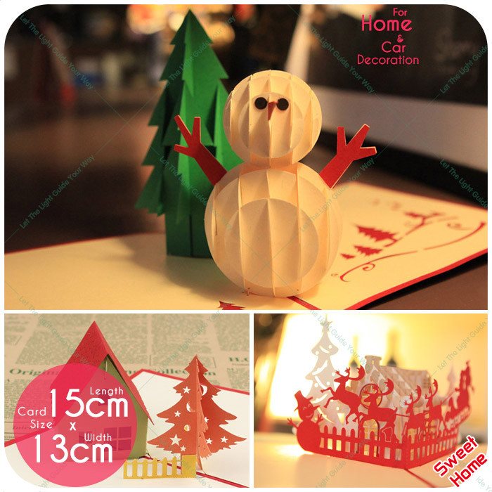 2pcs 19 Style Creative Christmas 3D Hollow-ed out laser cut up paper handmade greeting invitation cards Christmas Gifts postcard 1 design laser cut white elegant pattern west cowboy style vintage wedding invitations card kit blank paper printing invitation