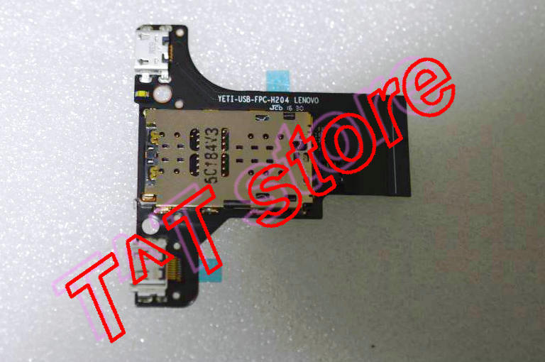 original FOR YB1-X90F USB CHARGING PORT PLUG MICRO SD READER FPC cable board YETI-USB-FPC-H204 test good free shipping микрофон blue microphones yeti usb