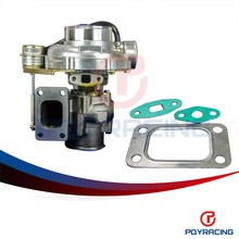 PQY STORE- WGT35 GT30 Turbine A/R .63 Com A/R .70 T3 flange  v-band-79mm TURBO TurboCharger internal wastegate PQY-TURBO51