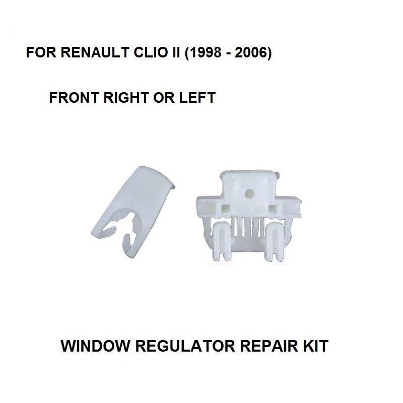 1998-2006 WINDOW REGULATOR COMPLETE CLIP FOR RENAULT CLIO II WINDOW REGULATOR REPAIR CLIP FRONT-RIGHT