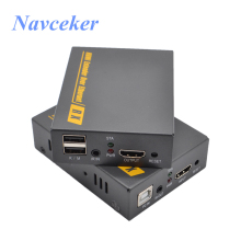 150m IP KVM Extender USB HDMI Support IR ZY-DT103KM Over TCP/IP By RJ45 UTP/STP CAT5 CAT6 Network