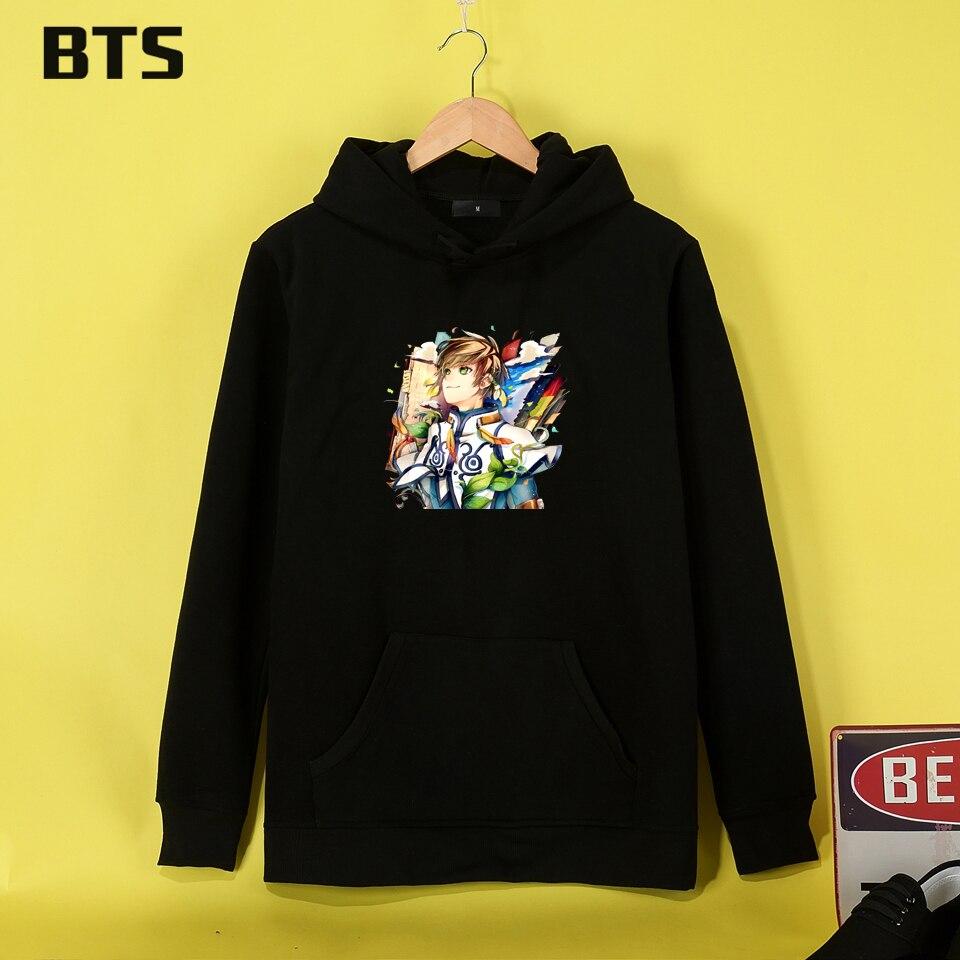 BTS Contes De Zestiria Hoodies Mulheres Haute Qualité Sweat Femmes Cool Hippie Anime Femmes Hoodies Sweatshirts Hiver