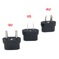 1 pz europeo US AU EU Plug Adapter American Japan China US To EU Euro Travel Power Adapter presa convertitore presa
