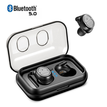 TWS 5.0 Bluetooth Earbuds Mini Earphone Wireless Headphones Sports Handsfree Headset Stereo Auriculares For Phones Xiaomi iPhone meelectronics mee audio x6 plus stereo bluetooth wireless sports in ear headphones headset handsfree earphone auriculares inalam