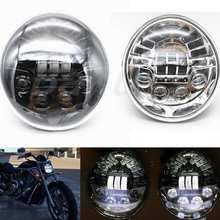 2018 New Harley V-rod Motorcycle Accessories LED Headlight Black for Harley Davidson VRSCA V-Rod VRod Led Headlight