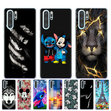 Cool Tiger Cat Pattern Phone Case For Coque Huawei P8 P9 Lite 2017 P10 P20 P30 Lite Pro Mate 10 20 Lite Pro Soft TPU Cover Shell(China)