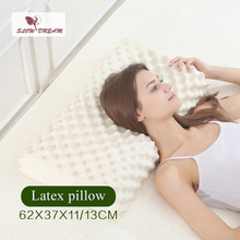 Slowdream Latex Pillow Thailand Natural Healthy Care Pure Slow Rebound For Neck Cervical Health Spine Protect