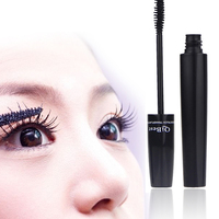 T2N2 Fashion New 2pc Makeup Eyelash Long Curling Fiber 3D Mascara Eye Lashes Extension Black