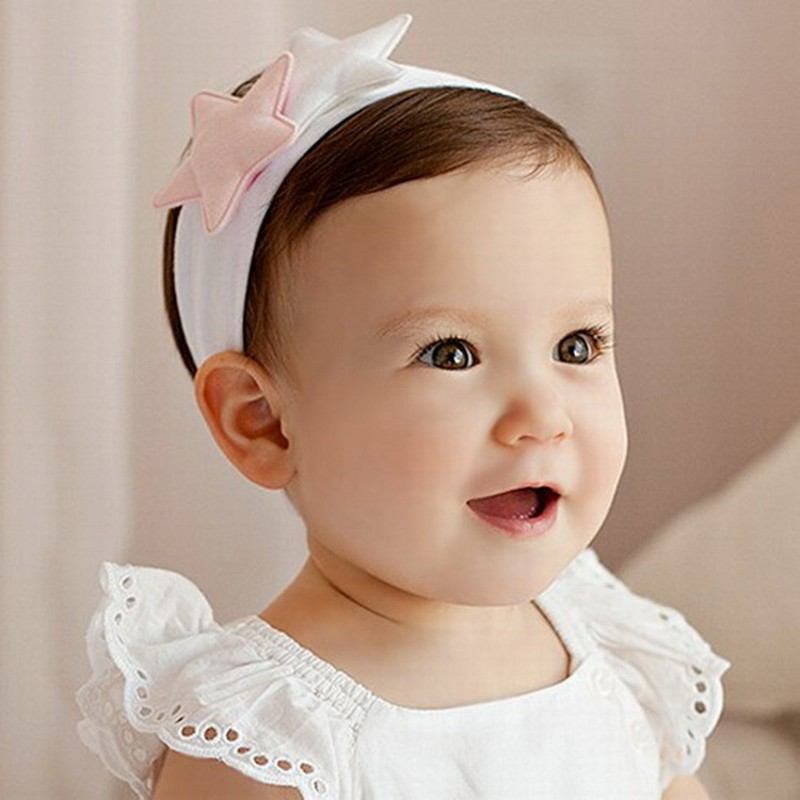 Cute Five-star Princess Baby Headband Newborn Baby Girls Photograph Props Artifact Pure Cotton Girls Hairband Hair Accessories Cute Five-star Princess Baby Headband Newborn Baby Girls Photograph Props Artifact Pure Cotton Girls Hairband Hair Accessories