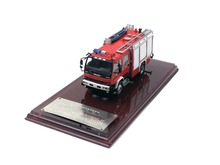 1:43 ISUZU FVR Foam Fire Truck Red Resin Model Limited Edition Collection Gifts Toy