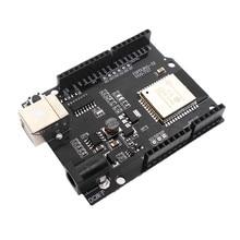 ESP32 development board seriële poort WiFi Bluetooth Ethernet IoT draadloze kaart transmissie transceiver ESPDUINO 32 ESP WROOM 32