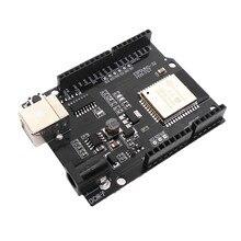 ESP32 scheda di sviluppo porta seriale WiFi Bluetooth Ethernet IoT mappa di trasmissione senza fili ricetrasmettitore ESPDUINO 32 ESP WROOM 32