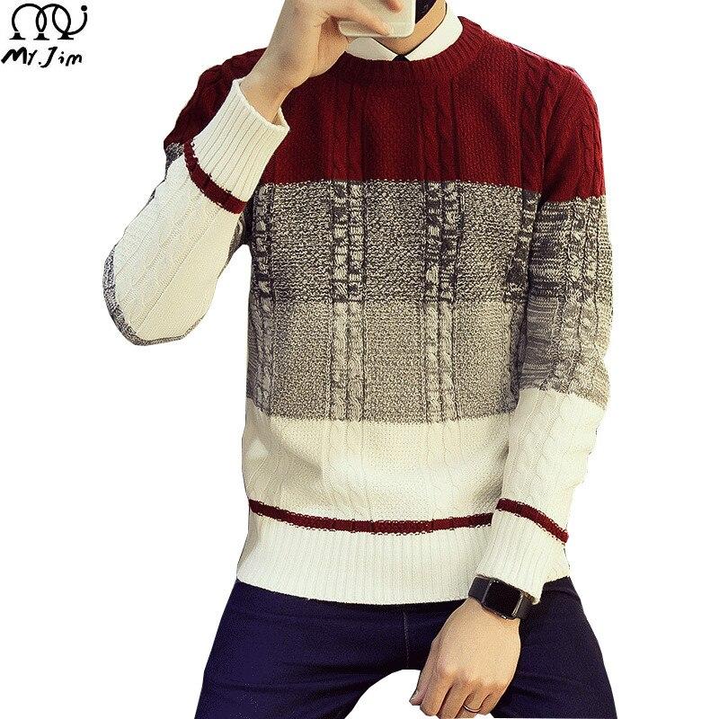 Мужской свитер 2016