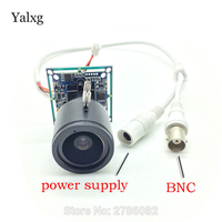 Mini Home CCTV 1 3 CCD 480 TV Lines 2 8 12mm Manual Focus Lens Analog