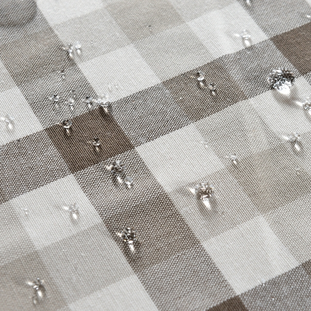PatridgeSky Waterproof Oilproof Table Cloth Cotton Linen Black White Check  Stripe Print Tablecloth Dining Table Cover