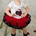 Nuevo 2015 Falda de cinta de Princesa de Verano niña bebé mini pelota de baile vestido de tutu ropa niñas falda de tutu