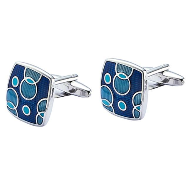 Aaa Enamel Cuff Links Vagula Copper Cufflinks French Shirt Cuffs Buttons Jewelry Gemelos 633