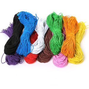 25meters 10 Colors Choice 1MM Beading elastic Stretch Cord Beads Cord String Strap Rope Bead thread For Bracelet DIY(China)