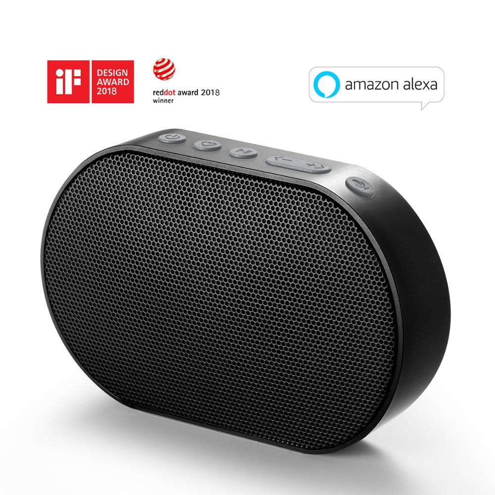 GGMM E2 Altavoz Bluetooth Speaker Speaker Portátil Speaker Bluetooth WI-FI Sem Fio Ao Ar Livre Caixa De Som Soundbar Com Amazon Alexa