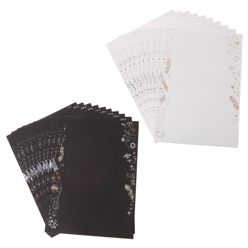 10pcs Creative Bronzing Feather Envelope For Wedding Invitation Cards Gifts Stationery Letter Envelopes Cards