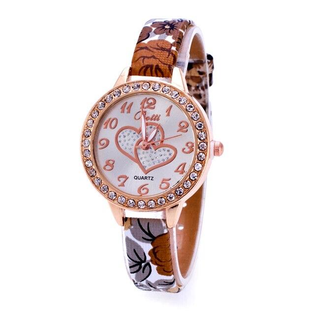 8c0db805edd 2016 Relógio de Pulso Marca Famosa Relógio Feminino Relógio de Pulso de  Quartzo Das Senhoras Das