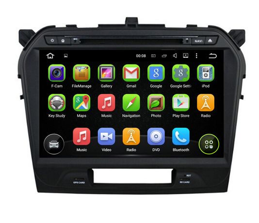 10 1inch Android 5 1 car dvd GPS for SUZUKI Vitara 2015 2016 radio gps wifi