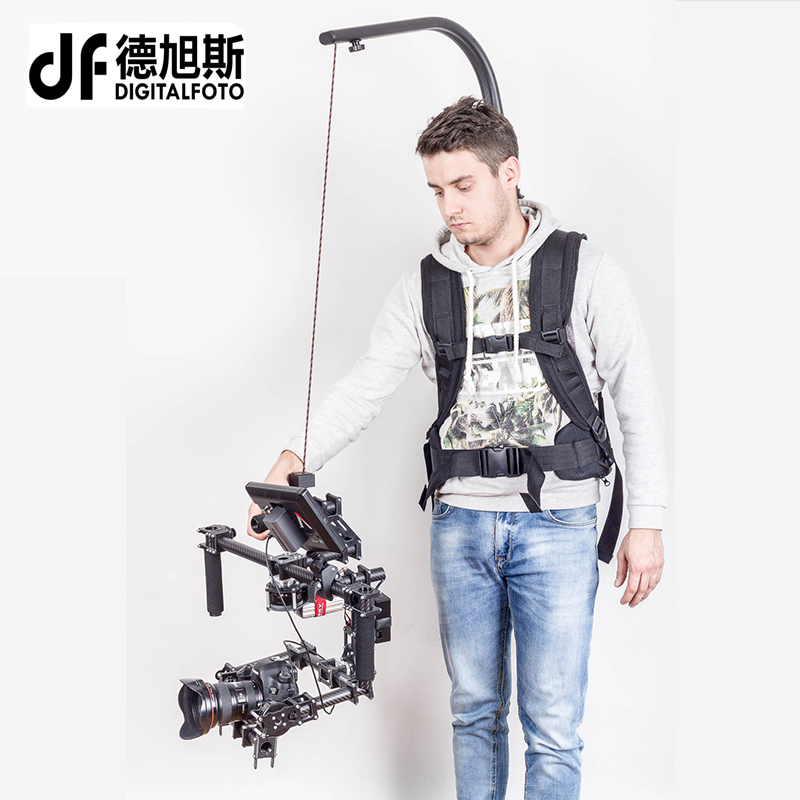 цена на Like EASYRIG 1-6kg video and film Serene camera for dslr DJI Ronin M 3 AXIS gimbal stabilizer Gyroscope Gyro steadicam vest