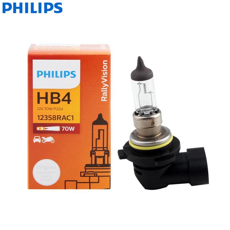 Philips Rally Vision 9005 HB3 100W Two Bulbs Head Light Replacement ATV UTV Bike