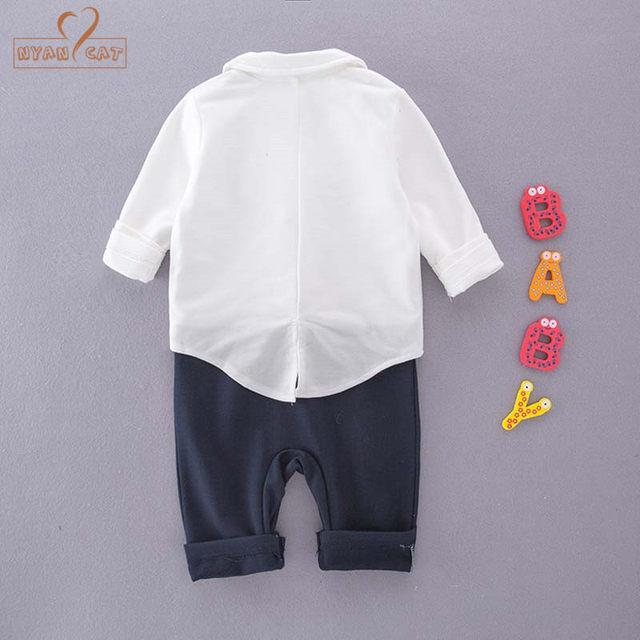 Online Shop Nyan Cat Baby boys clothing gentlemen bow tie wedding ... dca4d2d899ea