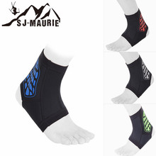 Men Women Sport Ankle Support Elastic Outdoor Sports Protector for Basketball Running Ankle Protection Bandage